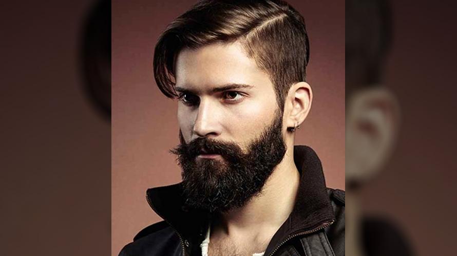 Estilo de barba cheia