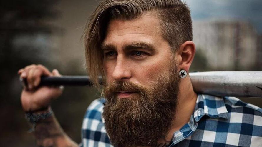 Estilo de barba lenhador