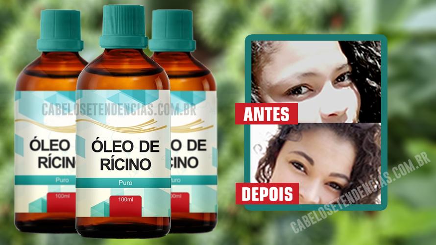 Oleo de Ricino para Sobrancelhas